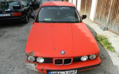 """Преузимање одузетог возила марке """"BMW"""" у Шипову"""